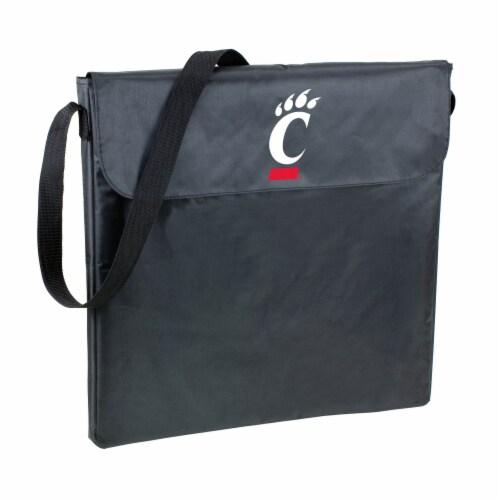 Cincinnati Bearcats - X-Grill Portable Charcoal BBQ Grill Perspective: back