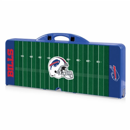 Buffalo Bills - Picnic Table Portable Folding Table with Seats Perspective: back