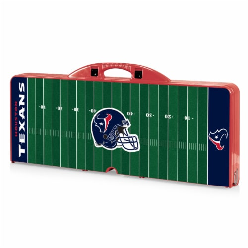 Houston Texans - Picnic Table Portable Folding Table with Seats Perspective: back