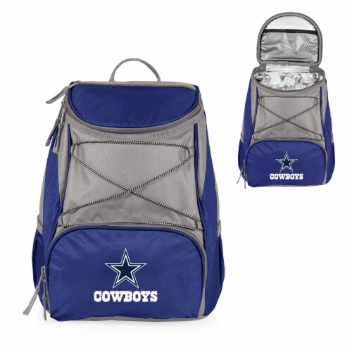 Dallas Cowboys  PTX Cooler Backpack - Navy Perspective: back