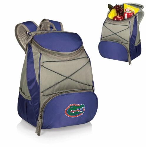 Florida Gators PTX Cooler Backpack - Navy Perspective: back