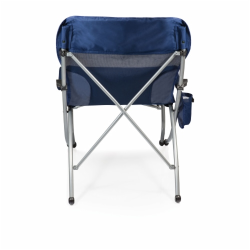 PT-XL Camp Chair, Navy Blue Perspective: back