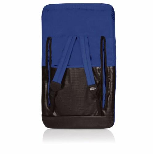 Ventura Portable Reclining Stadium Seat, Navy Blue Perspective: back