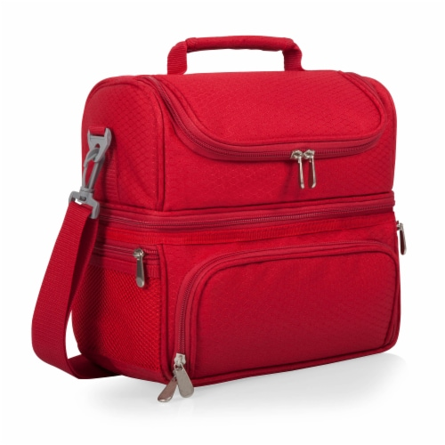 Pranzo Lunch Cooler Bag, Red Perspective: back