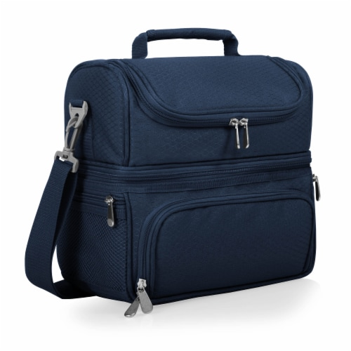 Pranzo Lunch Cooler Bag, Navy Blue Perspective: back