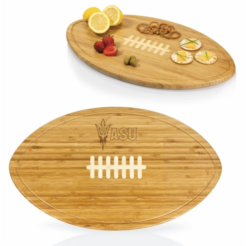 Arizona State Sun Devils - Kickoff Football Cutting Board & Serving Tray Perspective: back