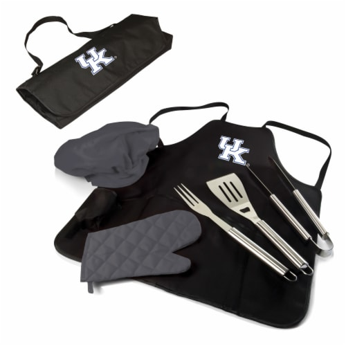 Kentucky Wildcats - BBQ Apron Tote Pro Grill Set Perspective: back