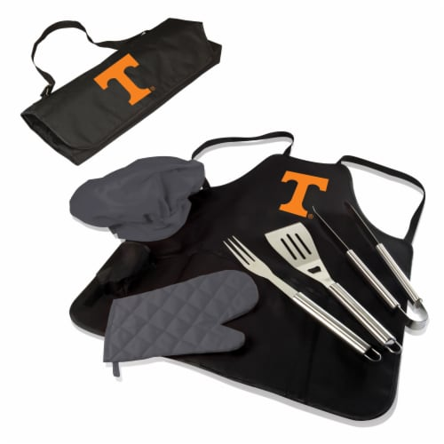 Tennessee Volunteers - BBQ Apron Tote Pro Grill Set Perspective: back