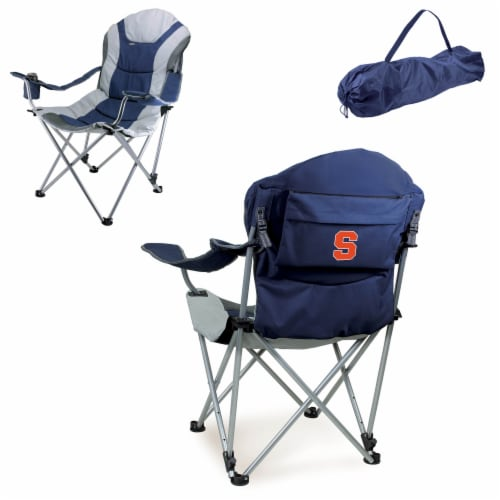 Syracuse Orange - Reclining Camp Chair Perspective: back