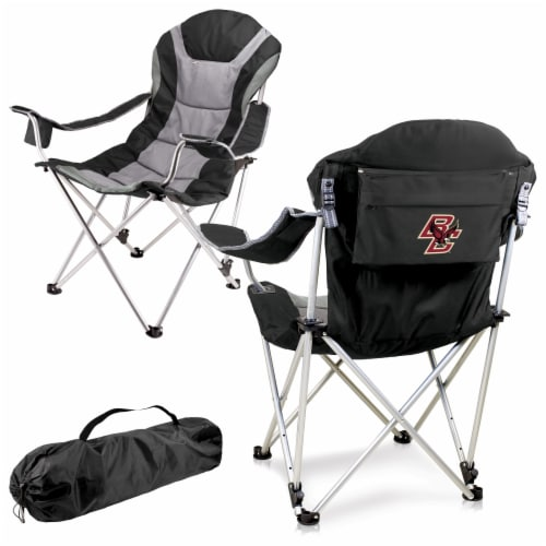 Boston College Eagles - Reclining Camp Chair Perspective: back