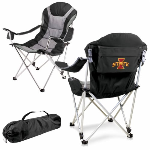 Iowa State Cyclones - Reclining Camp Chair Perspective: back