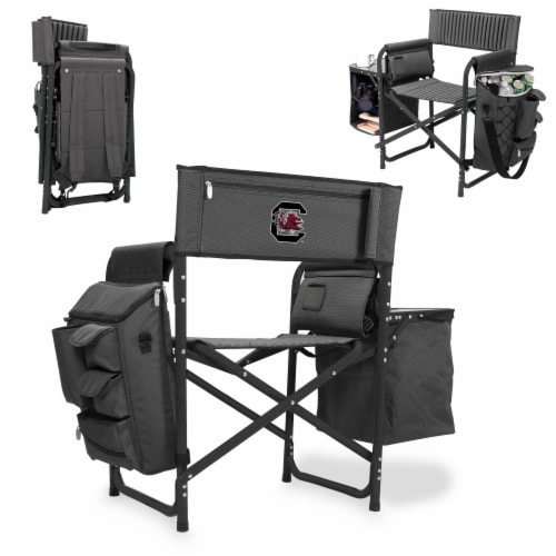 South Carolina Gamecocks - Fusion Backpack Chair with Cooler Perspective: back