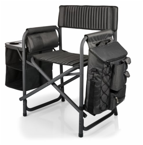 TCU Horned Frogs - Fusion Backpack Chair with Cooler Perspective: back