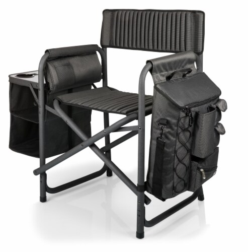 East Carolina Pirates - Fusion Backpack Chair with Cooler Perspective: back