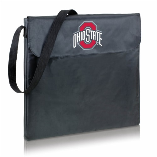 Ohio State Buckeyes - X-Grill Portable Charcoal BBQ Grill Perspective: back