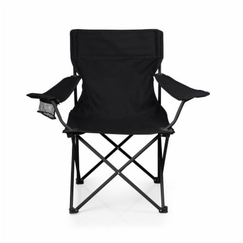 PTZ Camp Chair, Black Perspective: back