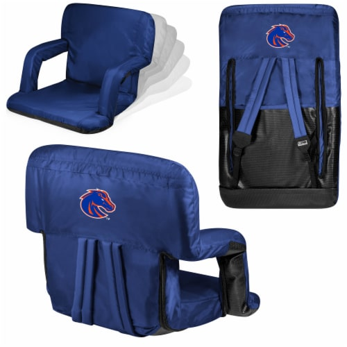 Boise State Broncos - Ventura Portable Reclining Stadium Seat Perspective: back