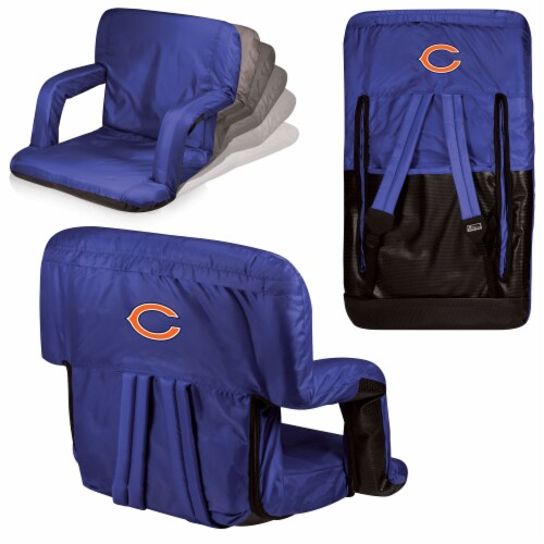 Chicago Bears - Ventura Portable Reclining Stadium Seat Perspective: back