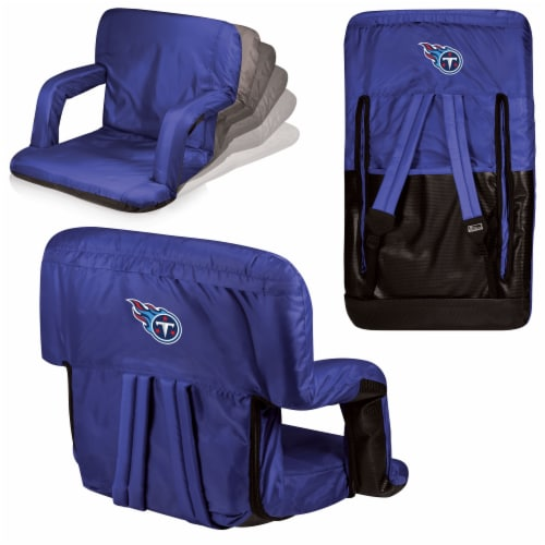 Tennessee Titans - Ventura Portable Reclining Stadium Seat Perspective: back