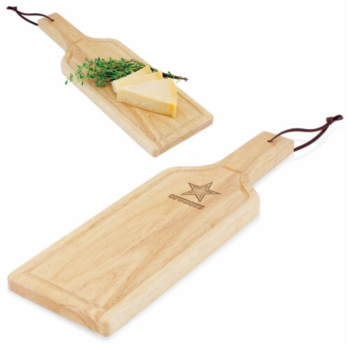 Dallas Cowboys - Botella Cheese Cutting Board & Serving Tray Perspective: back