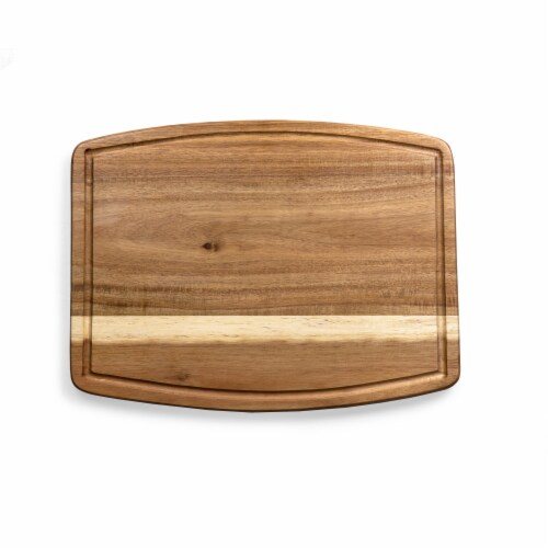 Ovale Acacia Cutting Board, Acacia Wood Perspective: back