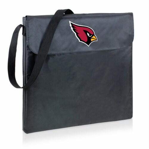 Arizona Cardinals - X-Grill Portable Charcoal BBQ Grill Perspective: back