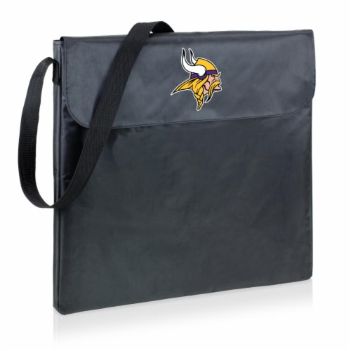 Minnesota Vikings - X-Grill Portable Charcoal BBQ Grill Perspective: back