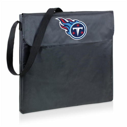 Tennessee Titans - X-Grill Portable Charcoal BBQ Grill Perspective: back