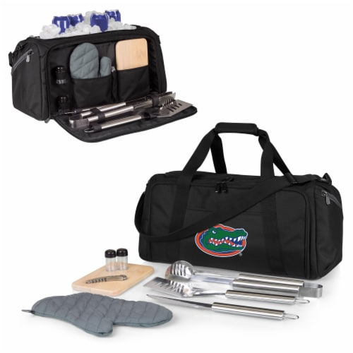 Florida Gators - BBQ Kit Grill Set & Cooler Perspective: back