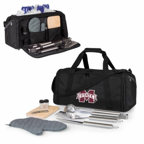 Mississippi State Bulldogs - BBQ Kit Grill Set & Cooler Perspective: back