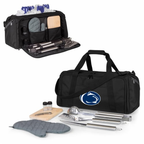 Penn State Nittany Lions - BBQ Kit Grill Set & Cooler Perspective: back