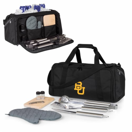 Baylor Bears - BBQ Kit Grill Set & Cooler Perspective: back