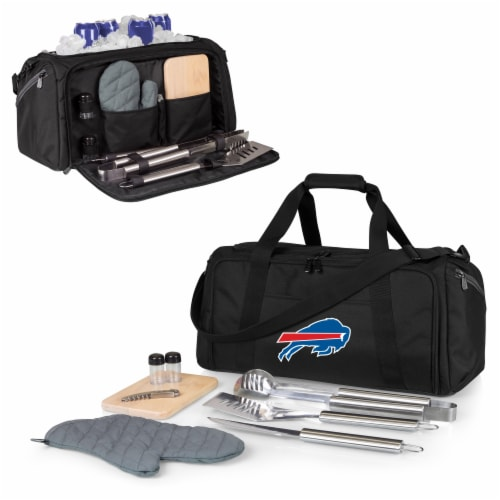 Buffalo Bills - BBQ Kit Grill Set & Cooler Perspective: back