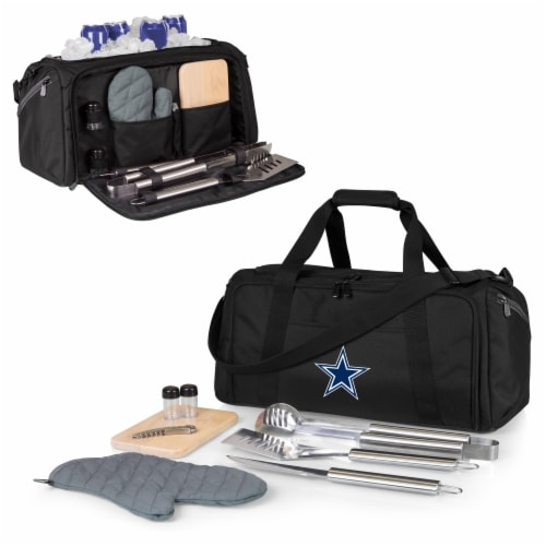 Dallas Cowboys - BBQ Kit Grill Set & Cooler Perspective: back