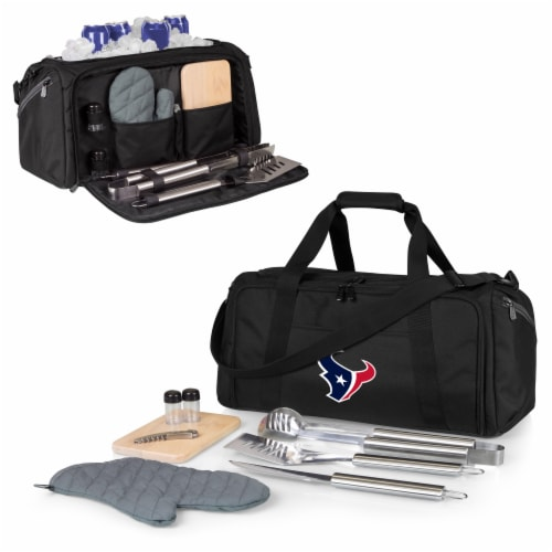 Houston Texans - BBQ Kit Grill Set & Cooler Perspective: back
