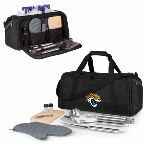 Jacksonville Jaguars - BBQ Kit Grill Set & Cooler Perspective: back