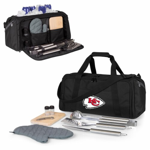 Kansas City Chiefs - BBQ Kit Grill Set & Cooler Perspective: back
