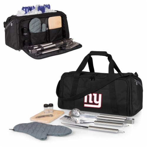 New York Giants - BBQ Kit Grill Set & Cooler Perspective: back