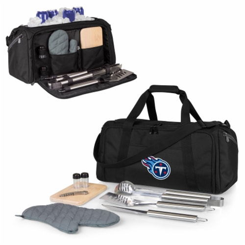 Tennessee Titans - BBQ Kit Grill Set & Cooler Perspective: back
