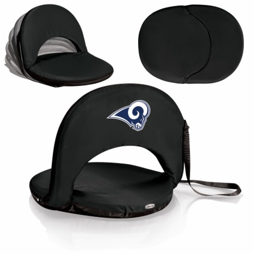 Los Angeles Rams - Oniva Portable Reclining Seat Perspective: back