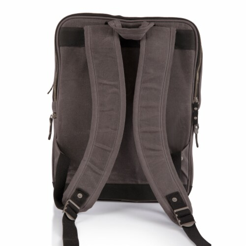 Bar-Backpack Portable Cocktail Set, Gray Perspective: back