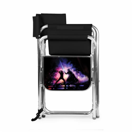 Star Wars - Sports Chair, Black Perspective: back