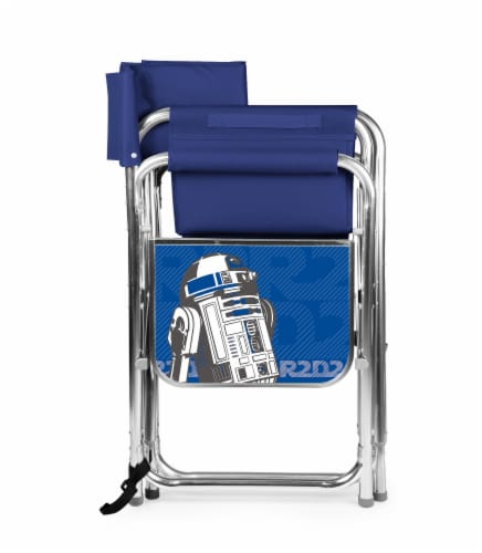 Star Wars R2-D2 - Sports Chair, Navy Blue Perspective: back