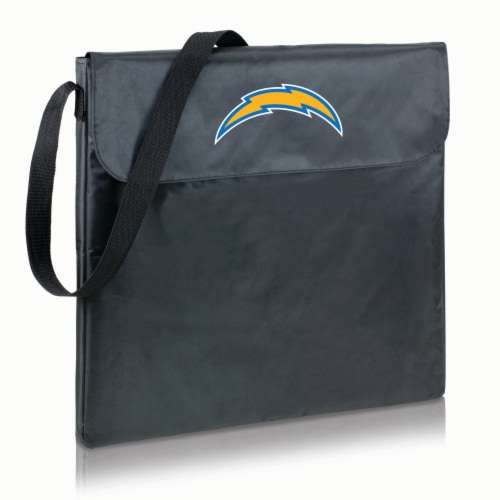 Los Angeles Chargers - X-Grill Portable Charcoal BBQ Grill Perspective: back