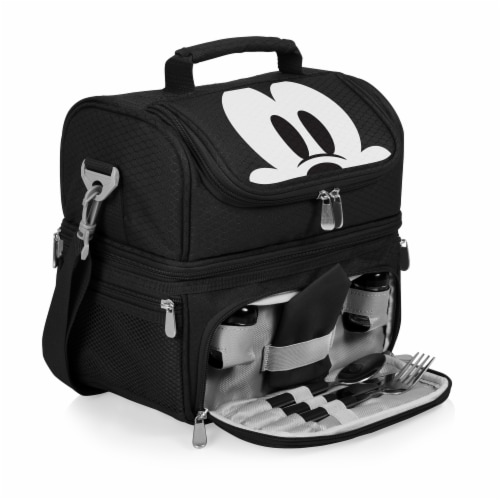 Disney Mickey Mouse - Pranzo Lunch Cooler Bag, Black Perspective: back