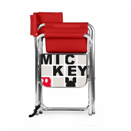 Disney Mickey Mouse - Sports Chair, Red Perspective: back