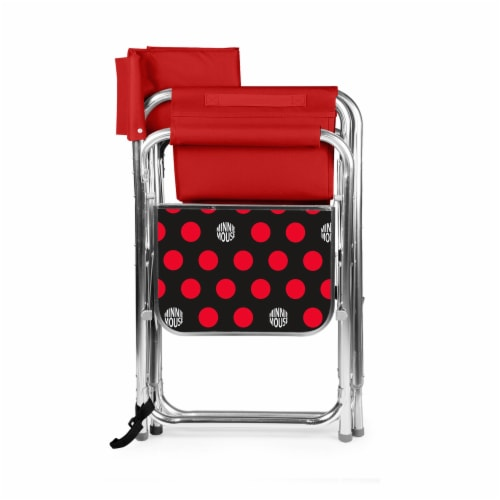 Disney Minnie Mouse - Sports Chair, Red Perspective: back