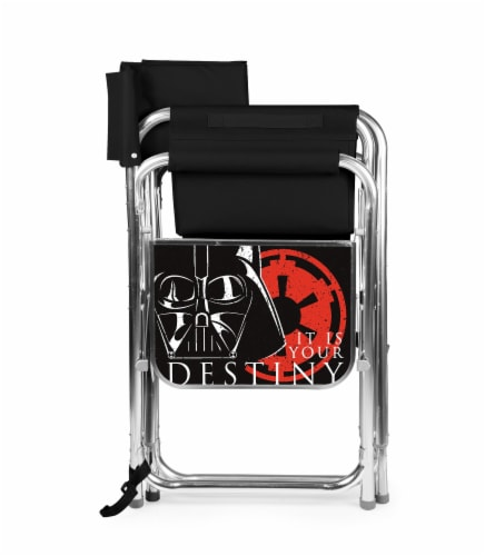 Star Wars Darth Vader - Sports Chair, Black Perspective: back