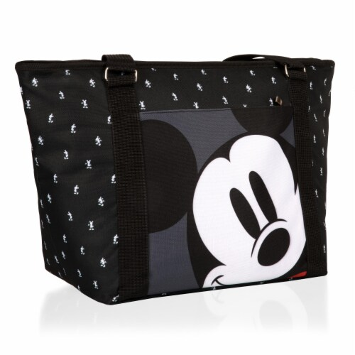 Disney Mickey Mouse - Cooler Tote Bag, Mickey Mouse Step & Repeat Pattern Perspective: back