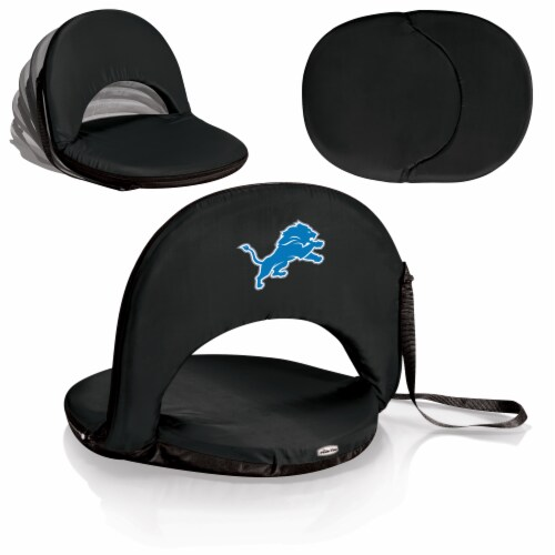 Detroit Lions - Oniva Portable Reclining Seat Perspective: back